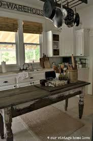Farm Table Kitchen by Best 25 Island Table For Kitchen Ideas On Pinterest Kitchen