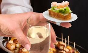 what does canape finger food literally mini ring plates that you can perch canapes