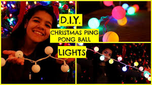 d i y ping pong ball lights sydney youtube
