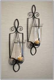Overstock Wall Sconces Hurricane Wall Sconces For Candles Foter