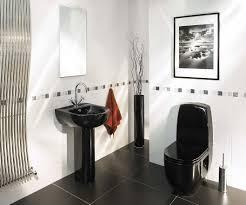 black and silver bathroom ideas bathroom fascinating design ideas using black toilets and oval