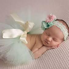 headband newborn new newborn baby girl tutu skirt headband photo prop