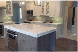 kitchen island countertops kitchen island countertop is calcutta marble with eased edge