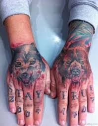 34 nice bear tattoos on hand