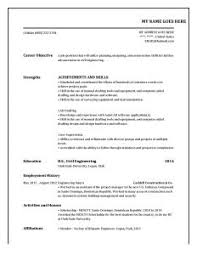 Completely Free Resume Templates Resume Template Creative 81 Free Samples Examples Format