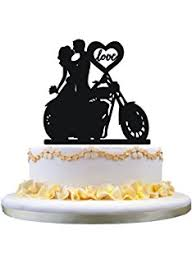 where to buy cake toppers motorcycle biker wedding cake topper by magical day