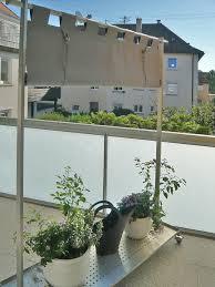 windschutz balkon stoff sichtschutz stoff johncalle