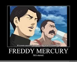 Freddie Mercury Meme - freddy mercury anime meme com