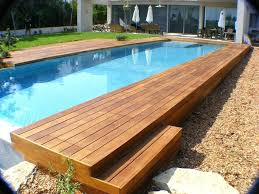 wooden swimming pool deck kits swimming pool movable floor wooden