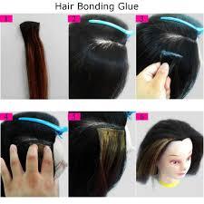 bonding hair anti fungus hair bonding glue remover bond gel glue wig