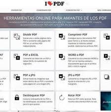 varias imagenes a pdf online herramientas online para amantes de los pdf el blogcadillo