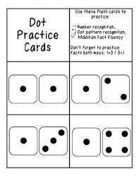 pattern practice games free dot flash cards kinder math pinterest student centered