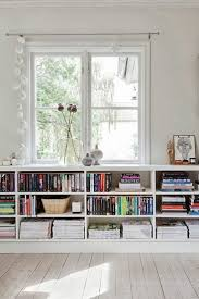 Decorate Office Shelves by Best 25 Low Shelves Ideas On Pinterest Bookshelf Living Room