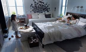 Small Bedroom Design Ideas Uk Delectable Ikea Bedroom Ideas Ikeaoom Small Rooms Black And White