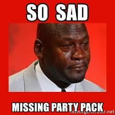Meme Jordan - so sad missing party pack crying michael jordan meme generator