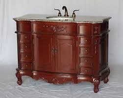 Antique Looking Bathroom Vanities 48 Inch Antique Style Single Sink Bathroom Vanity Model 2815 230