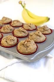 the best no sugar added banana muffins mama papa bubba