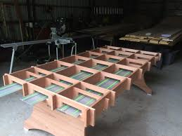 portable track saw table large cutting surface for track saw ts 75 eq festool jigs and
