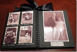 fashioned photo albums scanned photos to make an fashioned style album for my