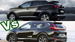 2017 honda cr v vs 2017 peugeot 3008 youtube