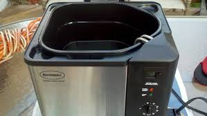 butterball turkey roaster fried turkey recipe with an indoor electric fryer