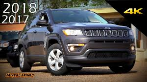 jeep compass 2018 interior new 2017 2018 jeep compass ultimate in depth look in 4k youtube