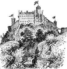 wartburg castle clipart etc