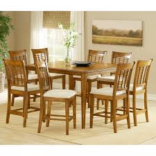 acme furniture selwyn 7 piece rectangular dining table set hayneedle