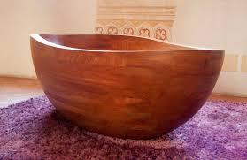 vasche da bagno legno vasca da bagno da appoggio ovale in legno beyond classic e