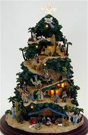 Brown Thomas Christmas Tree Decorations by Nativity Set And Christmas Tree Decoration Nativity Tree I