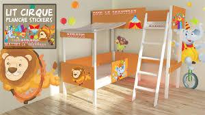 chambre cirque lit jumeau cirque vente lit jumeau pour enfants decore ta chambre