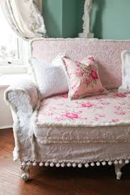 couch sofa shabby chic pink best french country cottage style
