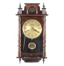 Linden Mantel Clock Linden 31 Day Chime Wall Clock Ebth