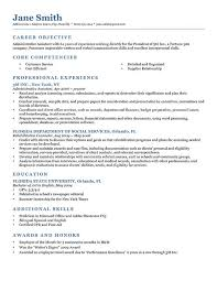 An Example Of Resume by An Example Of A Resume 15 An Example Of Resume Chronological