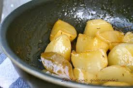 cuisiner des navets blancs navets glacés miel et thym invitations gourmandes recettes