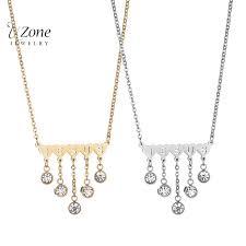 christian jewelry store aliexpress buy new christian jewelry jewelry letter tassel