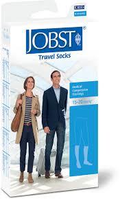 travel socks images Jobst travel 15 20 mmhg knee high compression socks at jpg
