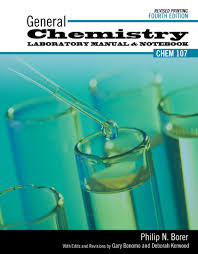 general chemistry laboratory manual and notebook higher education