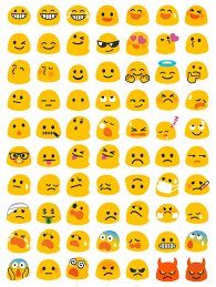 android new emoji a closer look at android n s new emoji the verge