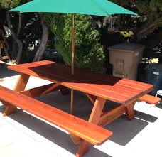 this old house picnic table this is a 8 foot picnic table i made for my daughter plans from