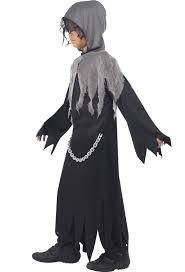 Grim Reaper Costume Kids Halloween Reaper Costume Black Grim Reaper Boys Costume