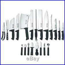 restaurant kitchen knives 22 pc professional chef culinary restaurant kitchen knife set and