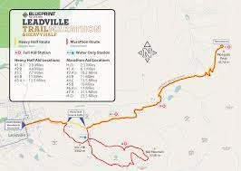 Marathon Florida Map by Course Change Announcement 2017 Blueprint For Athletes Leadville