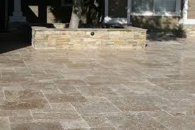 Circular Paver Patio Travertine Pavers Do Not Forget Concrete Pavers Do Not