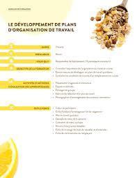 organisation du travail en cuisine le développement de plans d organisation de travail nos petits