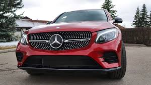 mercedes benz jeep red 2017 mercedes benz glc coupe first drive review