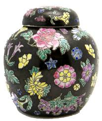 chinrose ginger porcelain chinese ginger jars in many colors