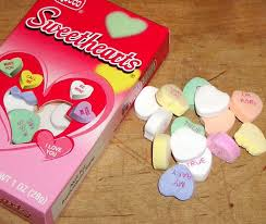sweet hearts candy candy box