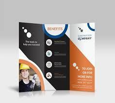 company tri fold brochure expin franklinfire co