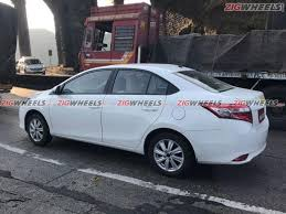 toyota vios spied toyota vios spotted testing in india indian cars bikes